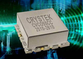 VCO delivers output power of +3 dBm typical.