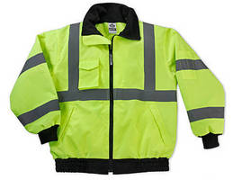 Weatherproof Bomber Jacket is Class 3, ANSI 107 certified.