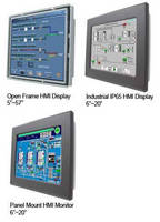HMI Touchscreen Displays come in variety of configurations.