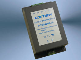AC/DC Switching Power Supplies offer 60 W of output power.