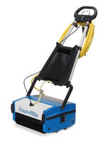 Multiwash Floor Scrubber operates quietly.