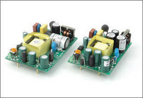 AC-DC Power Supplies are available in 10 and 15 W models.