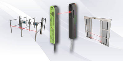 Photoelectric Sensors are designed for door applications.