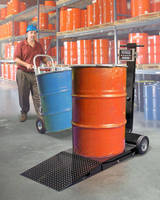 Portable Floor Scale Provides Drum Weighing Solutions