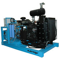 Water Jet Intensifier Pump produces up to1.35 gpm of pressure.
