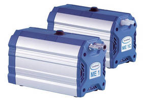 Compact Vacuum Pumps suit single and multiple filtrations.
