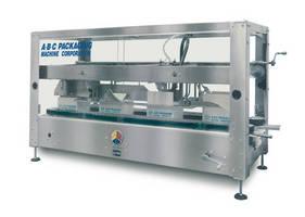 Hot Melt Case Sealer seals at speed of 25 cpm.