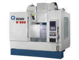 Romi Will Demonstrate a D800AP Vertical Machining Center at IMTS