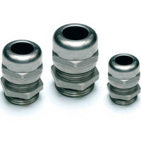 Stainless Steel Cable Glands are corrosion resistant.