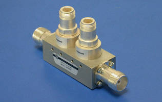 RF Directional Coupler offers hard to find interfaces.