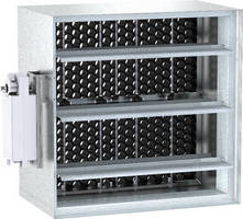 Damper measures and regulates airflow volumes.
