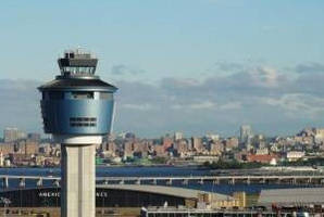 Lightweight Alcoa Architectural Panels Enhance New Air Traffic Control Tower at New York's LaGuardia Airport