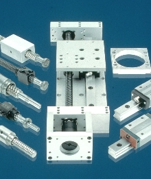 Linear Motion System offers choice of rails and drives.