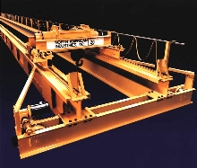 Overhead Bridge Cranes are custom built to Class D specs.
