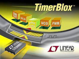 Low Frequency Clock Chip suits long duration timing applications.
