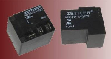 American Zettler Receives Highest Industry Ratings for Its AZ21001 and AZ21501 Power Relays