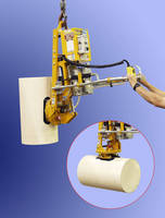 Below-the-Hook Vacuum Lifter uses dry pump vacuum system.
