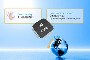 STMicroelectronics Extends and Enhances STM8L Microcontroller Family, Leveraging Ultra Low-Power EnergyLiteT Technology