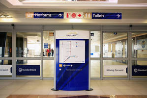 Vista System's Complete Wayfinding Solution is Being Installed at the New State-of-the-Art Rapid Rail Network in Gauteng, SA