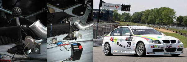 West Surrey Racing Choose Variohm Cable-Extension Transducers for Neat Gearshift Indicator Solution