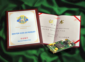 Ericsson Wins 5th Award from Electronic Products China for Ultra Wide Input Power Module