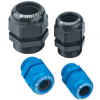 Cable Glands and Strain Relief are IP65/NEMA 4 and 4 X rated.