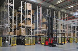 Driverless Lift Trucks Automate Samsonite Warehouse