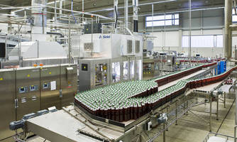 Sidel's First Complete Line Equipped with a Combi Predis(TM) in Germany for Bottling Tea in Aseptic PET at Hauser