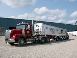 New V-Floor Trailer from Titan Gives Aggregate Hauler Bigger Payloads with Less Operating Cost