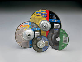 Norton Abrasives Improves and Expands Depressed Center Wheels Offering for Metal Fabricating