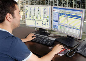 Warehouse Management Software offers real-time visualization.