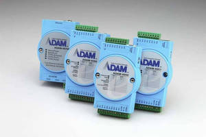 Advantech's ADAM Series of Remote I/O Modules Have Now Sold over 1 Million Units Worldwide