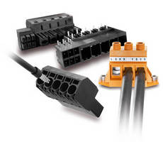 Weidmuller's New High Power PCB Terminals and Connectors Offer Design Freedom