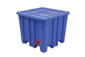 New Bulk Biohazard Container Earns UN Certification
