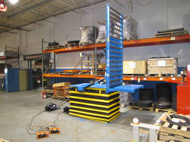 EnKon Systems' Hydraulic Scissor Lift & Tilt with Conveyor
