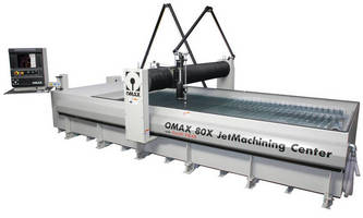 OMAX® 80X JetMachining® Center to Showcase Company's Latest Innovations