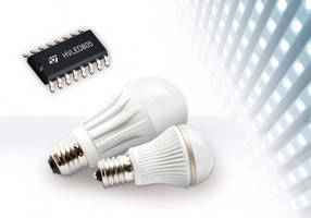 STMicroelectronics Raises Reliability and Efficiency for Ultra-Compact LED Lamps