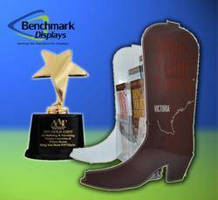Benchmark Displays' Boot Brochure Holder Wins Addy