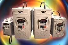 AC Drives include RS485 port for MODBUS RTU protocol.