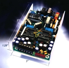 Switching Power Supply offers high efficiency in small package.