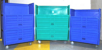 Laundry Cart Developer to Showcase Latest Non-Removable Shelf System at Clean '11