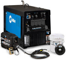 Miller, Hobart Brothers and Bernard Introduce Integrated Pipeline Welding System: the Big Blue® 350 PipePro® System