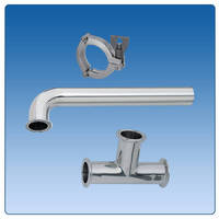 MISUMI Expands Line of Sanitary Pipes, Fittings and Accessories for Use in Medical, Pharmaceutical, Food & Beverage, and Chemical Processing Industries