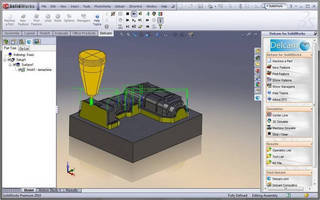 SolidWorks Webinar to Focus on Delcam's Integrated CAM