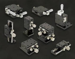 Misumi's Standard Precision Positioning Stages Offer Easy Alignment and Adjustment, While Reducing Overall Costs