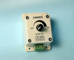 LED Dimmer offers 100% to 20% brightness without flickering.