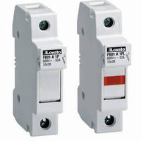 Fuse Holders are designed for Class CC and midget fuses.