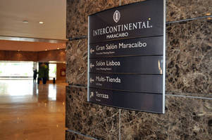 Vista System's Elegant and Flexible Signage Solution was Recently Installed at Intercontinental Maracaibo 5 Star Hotel In Maracaibo, Venezuela