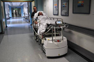 Bed Mover ups Porter Productivity and Reduces Risk of Manual Handling Injuries at UHSM