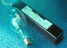 Ballasts operate pulse-start metal halide HID lamps.